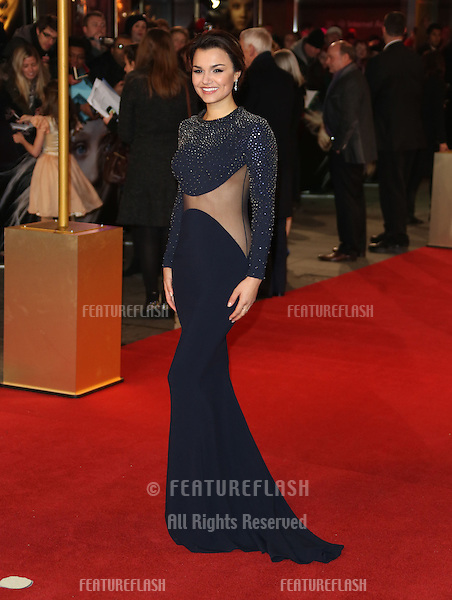 Samantha Barks arriving at the World Premiere of 'Les Miserables' held at the Odeon & Empire Leicester Square, London. 05/12/2012 Picture by: Henry Harris / Featureflash