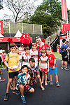 Janson Robinson and Brain O'Driscoll in the Sevens Villages during    Janson Robinson and Brain O'Driscoll in the Sevens Villages during    HSBC Hong Kong Rugby Sevens 2016 on 08 April 2016 at Hong Kong Stadium in Hong Kong, China. Photo by Moses Ng / Power Sport Images