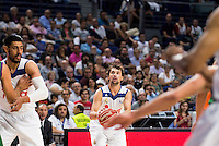 Real Madrid's player Sergio Llull during match of Liga Endesa at Barclaycard Center in Madrid. September 30, Spain. 2016. (ALTERPHOTOS/BorjaB.Hojas) /NORTEPHOTO.COM