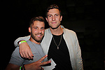 Season 18 contestants Paulie Calafiore and Corey Brooks at Big Brother 19 premiere on June 28, 2017 at Slate, New York City, New York. (Photo by Sue Coflin/Max Photos)