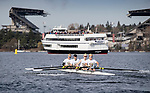 University of Washington Rowing 2019 Class Day on Saturday, March 23, 2019, in Seattle. (Stephen Brashear/Red Box Pictures)