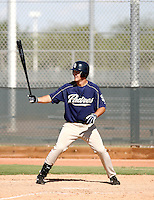 Sawyer Carroll / San Diego Padres 2008 Instructional League..Photo by:  Bill Mitchell/Four Seam Images