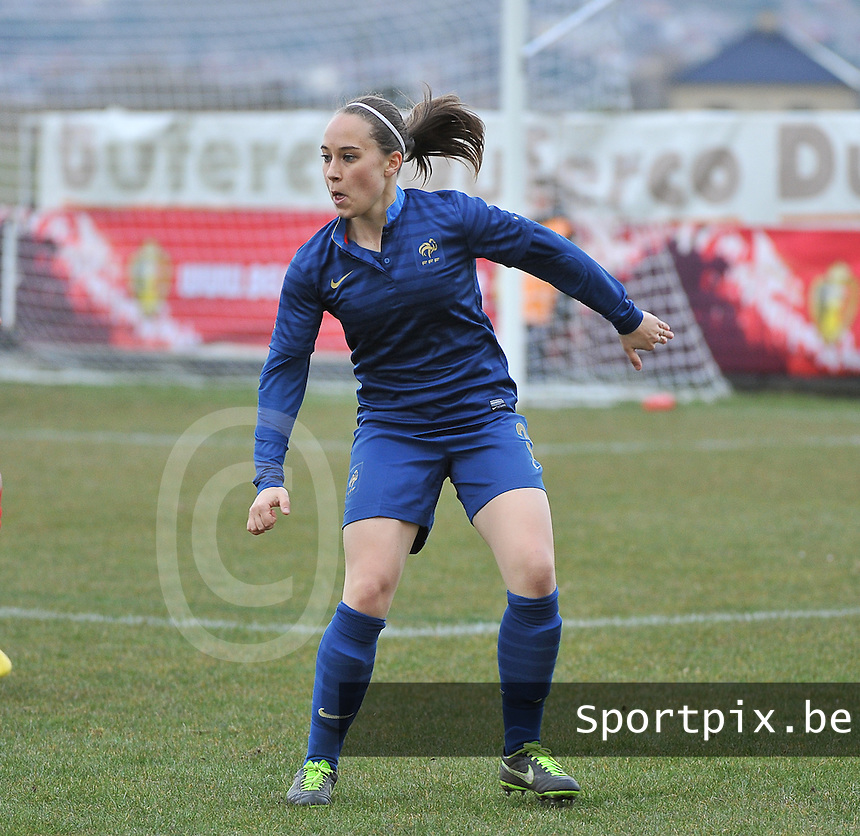 Switzerland U19 - France U19 : Charlotte Lorgere.foto DAVID CATRY / Nikonpro.be