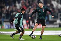 Paulo Dybala of Juventus , Cristiano Ronaldo of Juventus warm up <br /> Torino 26/11/2019 Juventus Stadium <br /> Football Champions League 2019//2020 <br /> Group Stage Group D <br /> Juventus - Atletico Madrid <br /> Photo Andrea Staccioli / Insidefoto