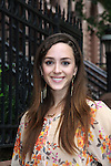 Christina Bennett Lind at All My Children's Good Night Pine Valley was held on September 17, 2011 at Prohibition, New York City, New York.  (Photo by Sue Coflin/Max Photos)