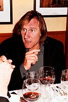 Gerad Depardieu<br /> , 1995<br /> <br /> PHOTO : Agence Quebec Presse
