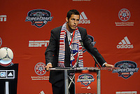 Matt Hedges 11th pick of first round by FC Dallas... The 2012 MLS Superdraft was held on January 12, 2012 at The Kansas City Convention Center, Kansas City, MO.
