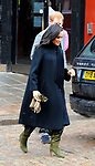 Meghan Duchess of Sussex   at  The Old Vic  theatre  Bristol  01.02.19