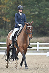 Stapleford Abbotts. United Kingdom. 08 November 2019. Class 4. British Dressage. Brook Farm training centre. Stapleford Abbotts. Essex. United Kingdom. Credit Garry Bowden/Sport in Pictures.~ 08/11/2019.  MANDATORY Credit Garry Bowden/SIP photo agency - NO UNAUTHORISED USE - 07837 394578