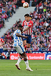 Atletico de Madrid's Angel Martin Correa and CD Leganes's Kenneth Josiah Omeruo during La Liga match between Atletico de Madrid and CD Leganes at Wanda Metropolitano stadium in Madrid, Spain. March 09, 2019. (ALTERPHOTOS/A. Perez Meca)