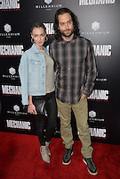 LOS ANGELES, CA. August 22, 2016: Comedian Chris D'Elia &amp; actress Cassi Colvin at the Los Angeles premiere of &quot;Mechanic: Resurrection&quot; at the Arclight Theatre, Hollywood.<br /> Picture: Paul Smith / Featureflash