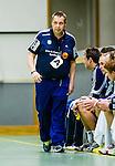 Stockholm 2014-03-02 Handboll Elitserien Hammarby IF - Ystads IF :  <br /> Ystads tr&auml;nare Mats Engblom <br /> (Foto: Kenta J&ouml;nsson) Nyckelord:  Ystad Bajen HIF portr&auml;tt portrait