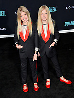 "LOS ANGELES, USA. December 11, 2019: London Fuller & Sedona Fuller at the premiere of ""Bombshell"" at the Regency Village Theatre.<br /> Picture: Paul Smith/Featureflash"