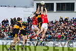 Paudie Clifford, East Kerry in action against Gavin White, Dr Crokes  during the Kerry County Senior Club Football Championship Final match between East Kerry and Dr. Crokes at Austin Stack Park in Tralee, Kerry.
