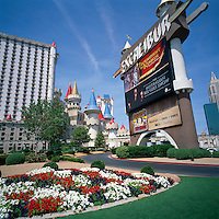 Las Vegas, Nevada, USA - Excalibur Hotel and Casino along The Strip (Las Vegas Boulevard)