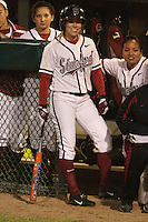 15 February 2008: Stanford Cardinal Anna Beardman during Stanford's 11-0 win against the Wichita State Shockers in the Stanford Invitational I at the Boyd and Jill Smith Family Stadium in Stanford, CA.