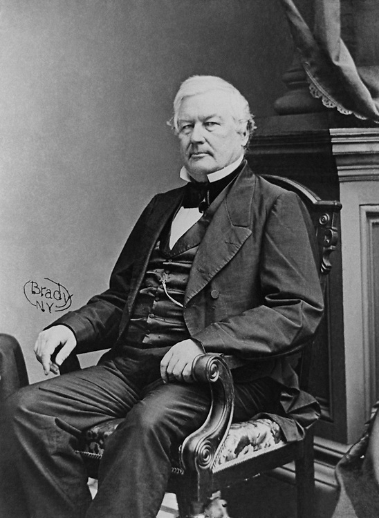 Portrait of Former President Millard Fillmore in the Library of Congress collection. (Photo by CQ Roll Call via Getty Images)