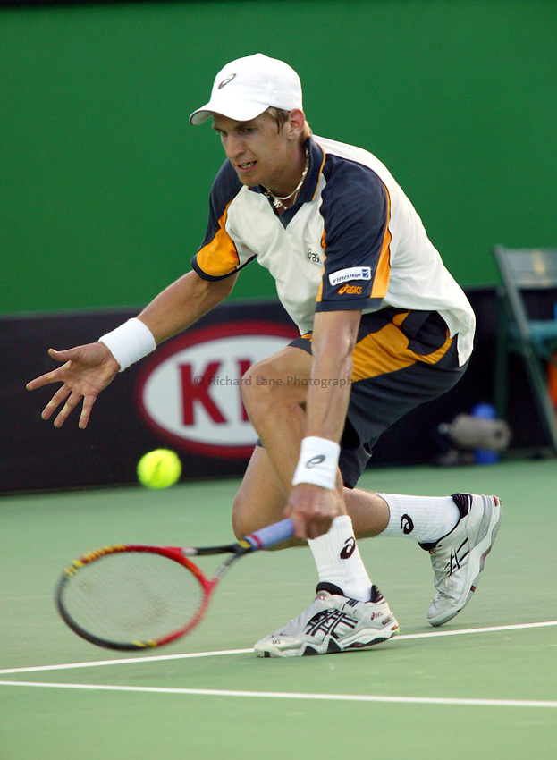 Jarkko Nieminen, Australian Tennis Open 2004, Melbourne, Australia