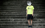 Wings for Life Ambassador and Illustrator Ducan poses for a photograph during the Wings for Life World Run on 08 May, 2016 in Yilan, Taiwan. Photo by Victor Fraile / Power Sport Images