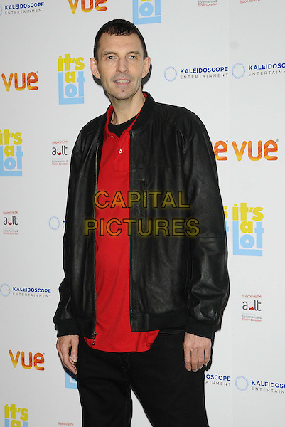 Tim Westwood<br /> The &quot;It's A Lot&quot; UK film premiere, Vue West End cinema, Leicester Square, London, England.<br /> October 21st, 2013<br /> half length black jacket red top<br /> CAP/CAN<br /> &copy;Can Nguyen/Capital Pictures