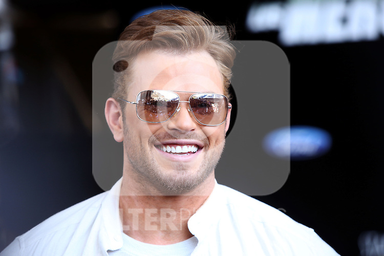 Kellan Lutz, Wesley Snipes, Jason Statham, Sylvester Stallone and Antonio Banderas present the film ´The Expendables 3'. In the pic: Kellan Lutz, in Marbella, Spain. August, 5 of 2014. (ALTERPHOTOS/Carlos Dafonte)