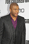 "Tyler Perry attending The New York Special Screening of Tyler Perry's next film ""For Colored Girls"" on October 25, 2010 at the Ziegfield Theater, New York City, New York. (Photo by Sue Coflin/Max Photos)"