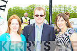 Having a flutter at Killarney Races on Sunday was l-r: Keelin, Roger Kissane and Ciara Hurley Lisselton   Copyright Kerry's Eye 2008