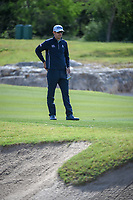 Lanto Griffin (USA) looks over his putt on 14 during Round 1 of the Valero Texas Open, AT&amp;T Oaks Course, TPC San Antonio, San Antonio, Texas, USA. 4/19/2018.<br /> Picture: Golffile | Ken Murray<br /> <br /> <br /> All photo usage must carry mandatory copyright credit (&copy; Golffile | Ken Murray)
