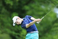 James Walsh (Kinsale) during the Connacht U14 Boys Amateur Open, Ballinasloe Golf Club, Ballinasloe, Galway,  Ireland. 10/07/2019<br /> Picture: Golffile | Fran Caffrey<br /> <br /> <br /> All photo usage must carry mandatory copyright credit (© Golffile | Fran Caffrey)