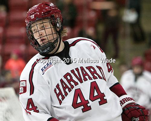 Michael Floodstrand (Harvard - 44) - The Harvard University Crimson defeated the visiting Brown University Brown Bears 5-2 (EN) on Saturday, November 7, 2015, at Bright-Landry Center in Boston, Massachusetts.