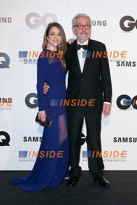 """Silvia Abascal and Emilio Martinez Lazaro attends the """"GQ AWARDS"""" at Palace Hotel in Madrid, Spain. November 3, 2014. (ALTERPHOTOS/Carlos Dafonte/Insidefoto)"""