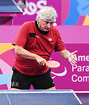Ian Kent competes in Para Table Tennis at the 2019 ParaPan American Games in Lima, Peru-24aug2019-Photo Scott Grant