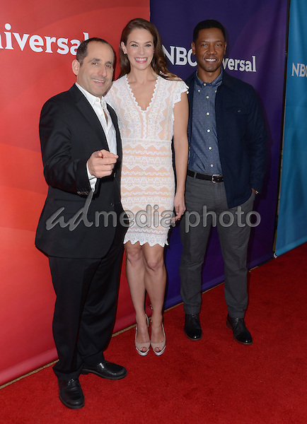 14 January  - Pasadena, Ca - Peter Jacobson, Amanda Righetti, Tory Kittles. NBC Universal Press Tour Day 2 held at The Langham Huntington Hotel. Photo Credit: Birdie Thompson/AdMedia