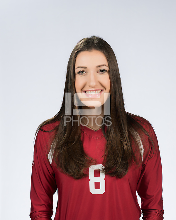 Stanford, Ca. - August 10, 2017: The 2017 Stanford Cardinal Volleyball team