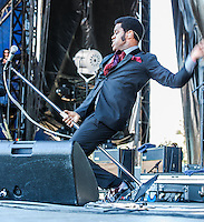 Vintage Trouble performs at Voodoo Fest 2012 in New Orleans, LA.