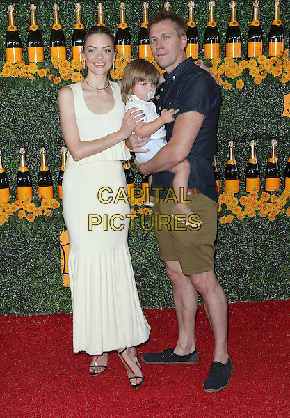 17 October 2015 - Pacific Palisades, California - Jaime King, Kyle Newman, James Knight Newman. Sixth-Annual Veuve Clicquot Polo Classic, Los Angeles held at Will Rogers State Historic Park. <br /> CAP/ADM/FS<br /> &copy;FS/ADM/Capital Pictures