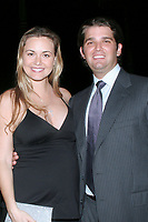 ***Vanessa Trump, the wife of Donald Trump Jr., was taken to a hospital on Monday after complaining of nausea when she was exposed to an unidentified white powder that came in the mail***<br /> FILE PHOTO: PALM BEACH, FL - 2007:  Donald Trump and Melania Knauss at the Mar-A-Lago Club in 2007 in Palm Beach, Florida.<br /> People:  Donald and Vanessa Trump<br /> CAP/MPI22<br /> &copy;MPI22/Capital Pictures