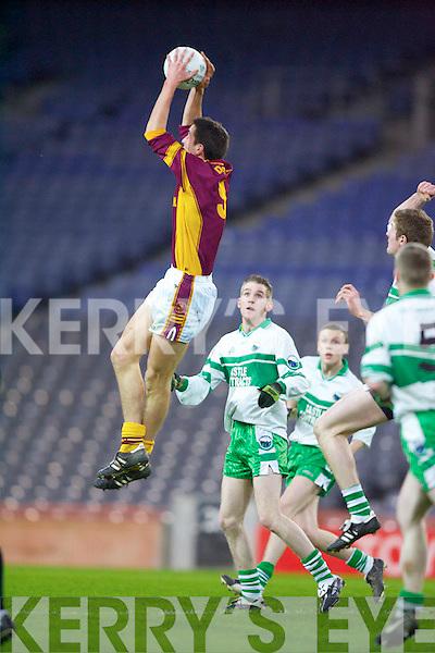 Duagh v Greencastle, Tyrone at Croke Park on Saturday night in the All Ireland Junior Club Football final..