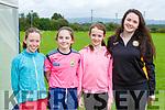 Rachel Barry, Ella Comerford, Niamh and Aine O'Shea enjoying the Firies GAA funday on Sunday