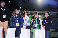 SCHAATSEN: AMSTERDAM: Olympisch Stadion, 28-02-2014, KPN NK Sprint/Allround, Coolste Baan van Nederland, ©foto Martin de Jong