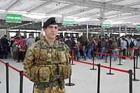 - Milano, Esposizione Mondiale Expo 2015, militari dell'Esercito in servizio di sicurezza<br /> <br /> - Milan, the World Exhibition Expo 2015, Army soldiers in security service