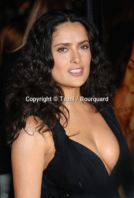 Salma Hayek arriving at the ASK THE DUST Premiere at the Egyptian Theatre in Los Angeles. March 2, 2006.