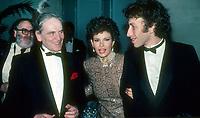Pierre Cardin Raquel Welch &amp; husband Andre Weinstein 1982<br /> Photo By John Barrett/PHOTOlink.net / MediaPunch