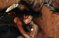 The Descent (2005) <br /> Natalie Mendoza &amp; Saskia Mulder<br /> *Filmstill - Editorial Use Only*<br /> CAP/KFS<br /> Image supplied by Capital Pictures