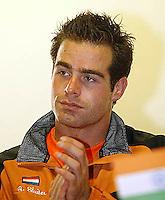 20030918, Zwolle, Davis Cup, NL-India, Raemon Sluiter