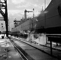 Scheepswerf Mercantile Marine Engineering in Antwerpen.