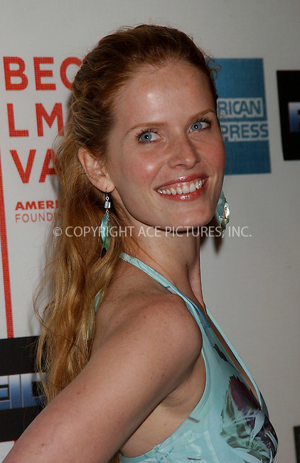 WWW.ACEPIXS.COM . . . . . ....NEW YORK, MAY 6, 2006....Rebecca Mader at the Premiere Of Poseidon At The 5th Annual TFF.....Please byline: KRISTIN CALLAHAN - ACEPIXS.COM.. . . . . . ..Ace Pictures, Inc:  ..(212) 243-8787 or (646) 679 0430..e-mail: picturedesk@acepixs.com..web: http://www.acepixs.com