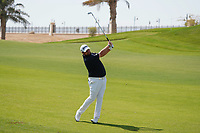 Shane Lowry (IRL) on the 9th during Round 4 of the Saudi International at the Royal Greens Golf and Country Club, King Abdullah Economic City, Saudi Arabia. 02/02/2020<br /> Picture: Golffile | Thos Caffrey<br /> <br /> <br /> All photo usage must carry mandatory copyright credit (© Golffile | Thos Caffrey)
