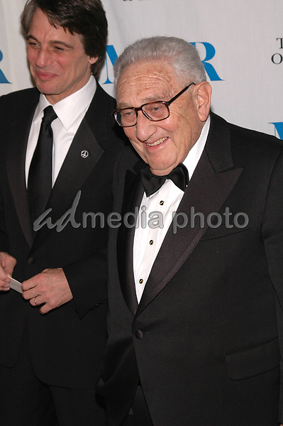 26 May 2005 - New York, New York - Dr. Henry Kissinger and Tony Danza arrive at The Museum of Television and Radio's Annual Gala where Merv Griffin is being honored for his award winning career in radio and television.<br />