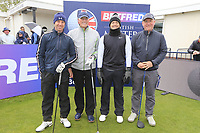 Tom Lewis (ENG) and team during the Hero Pro-am at the Betfred British Masters, Hillside Golf Club, Lancashire, England. 08/05/2019.<br /> Picture Fran Caffrey / Golffile.ie<br /> <br /> All photo usage must carry mandatory copyright credit (© Golffile | Fran Caffrey)